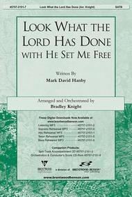 Look What the Lord Has Done with He Set Me Free Orchestration/Conductor's Score CD- ROM