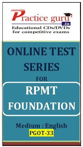 Online Test Series for RPMT Foundation