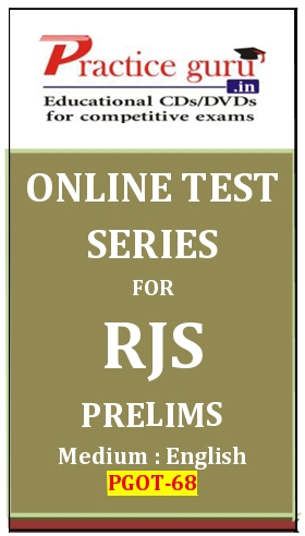 Online Test Series for RJS Prelims