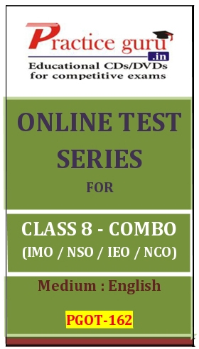 Online Test Series for Class 8-Combo Pack (IMO/NSO/IEO/NCO)