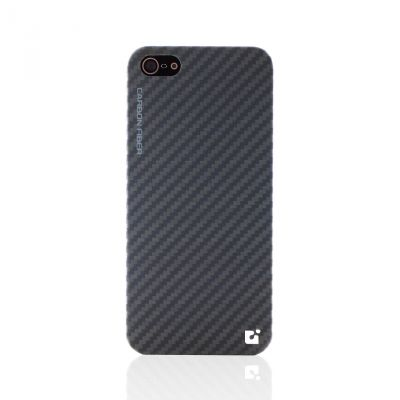 CDN Carbon Fiber iPhone 5 Case Black-Gray G062-01