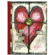 C. R Gibson Bound Personal Journal - Whole Hearts