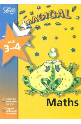 Letts  Magical  Maths  Age 3 - 4