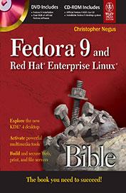 Buy Fedora 9 & Red Hat Enterprise Linux Bible W/Cd book