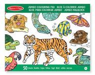 Jumbo Colouring Pad - Animals