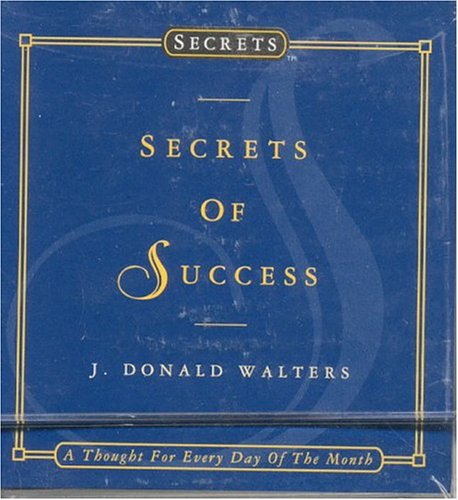 Daycards--secrets Of Success: A Thought For Every Day Of The Month (secrets Daycards)