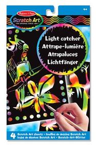 Scratch Art Light Catcher Sheets
