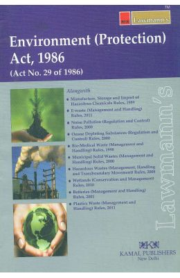 Environment Protection Act 1986 Act No 29 Of 1986 : Lawmanns