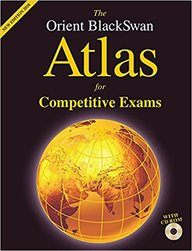 Orient Blackswan Atlas For Competitive Exams