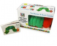Zoobies Very Hungry Caterpillar Pet Plush Toy, Blanket & Book Combo