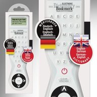 Electronic Dictionary Bookmark - Dual Language (German - English)