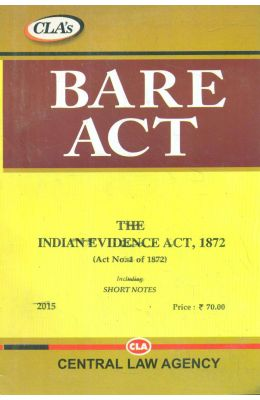 Indian Evidence Act 1872 : Bare Act