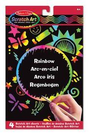 Scratch Art Sheets: Rainbow