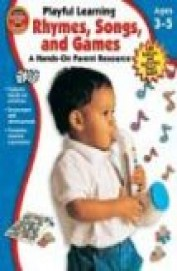 Playful Learning Rhymes Songs & Games Age 3-5 - A Hand On Parent Resource