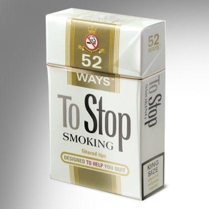 52 Ways To Stop Smoking Cards