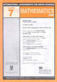 Iais 2005 Question Paper Booklet : Mathematics 2005-Class 7 [2005 Iais]