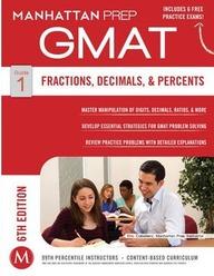 Fractions Decimals & Percents Gmat Strategy Guide 1 Manhattan