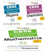 CBSE Chapterwise Solutions- PCM Class 12th (Set of 3 Books)