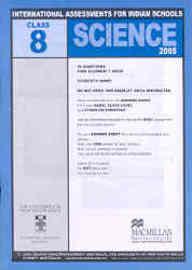 Iais 2005 Question Paper Booklet : Science 2005-Class 8 [2005 Iais]