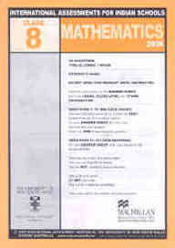 Iais 2005 Question Paper Booklet : Mathematics 2005-Class 8 [2005 Iais]