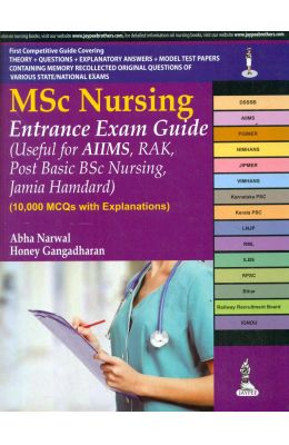 Msc Nursing Entrance Exam Guide Useful For Aiims Rak Post Basic Bsc Nursing