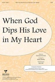 When God Dips His Love in My Heart Split Track Accompaniment CD