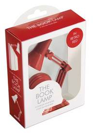 The Book Lamp-Retro Red