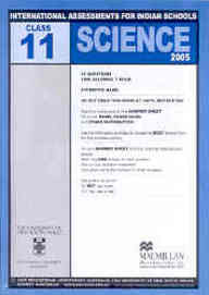 Iais 2005 Question Paper Booklet : Science 2005-Class 11 [2005 Iais]
