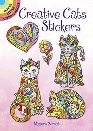 Creative Cats Stickers Dover Little Activity Books