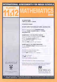 Iais 2005 Question Paper Booklet : Mathematics 2005-Class 11 & 12 [2005 Iais]