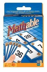 Mathable Quatro Card Game