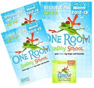 One Room Sunday School Kit Winter 2012-13: Grow your faith by leaps and bounds