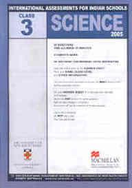 Iais 2006 Question Paper Booklet : Computer Skills 2006-Class 3 [2006 Iais]