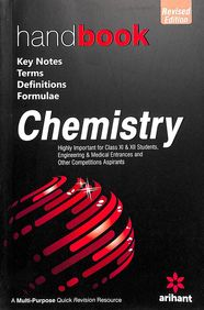 Handbook Chemistry Class 11 & 12 : Key Notes Terms Definitions Formulae Code:C191