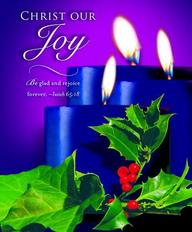 Advent Blue Sunday 3 Bulletin 2012, Large (Package of 50)