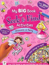 My Big Book Of Seek & Find Activites :  Princess & Fairy