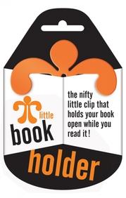 Little Book Holder-Holds Your Book Open- Orange
