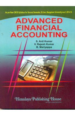 Advanced Financial Accounting 2 Sem Bcom : Bu Code Paa 755