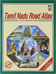 Buy Tamil Nadu Tourist Road Atlas State Distance Guide With