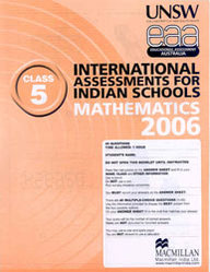 Iais 2006 Question Paper Booklet : Mathematics 2006-Class 5 [2006 Iais]