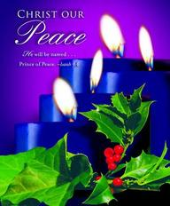 Advent Blue Sunday 4 Bulletin 2012, Large (Package of 50)