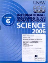 Iais 2006 Question Paper Booklet : Science 2006-Class 6 [2006 Iais]