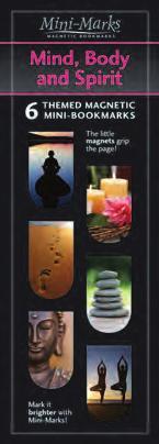Mini-Mark Magnetic Bookmark-Mind Body and Spirit