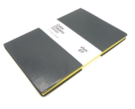 Black and Yellow Color Classic Flexi Note Book