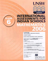 Iais 2006 Question Paper Booklet : Mathematics 2006-Class 6 [2006 Iais]