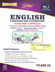 English Language & Literature Class 9  Sample Papers : Cbse