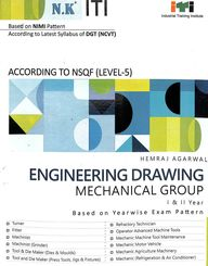 Engineering Drawing Mechanical Group Iti 1 & 2 Year : Based On Nimi Pattern