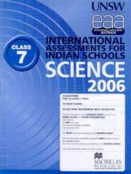 Iais 2006 Question Paper Booklet : Science 2006-Class 7 [2006 Iais]