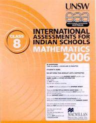 Iais 2006 Question Paper Booklet : Mathematics 2006-Class 8 [2006 Iais]