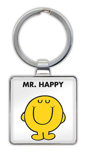 Mr. Happy Keyring